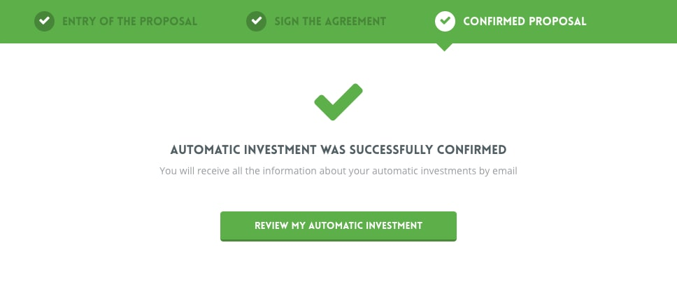 NEO Finance confirmed proposal