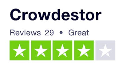 Crowdestor Trustpilot rating