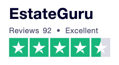 EstateGuru Trustpilot rating